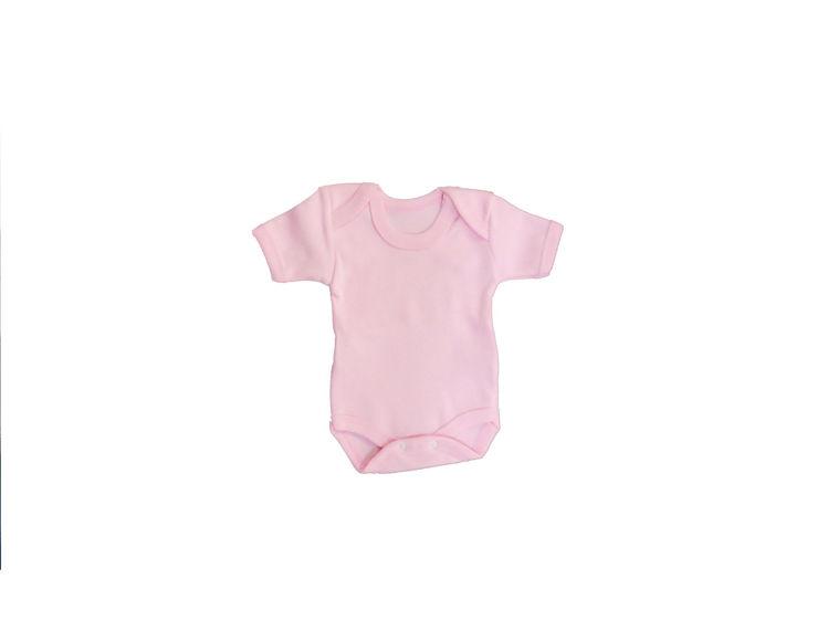 Sema Bebe Yarım Kol Badi (Body) - Pembe resmi