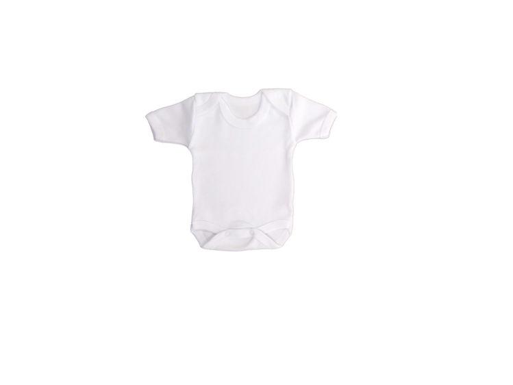 Sema Bebe Yarım Kol Badi (Body) - Beyaz resmi