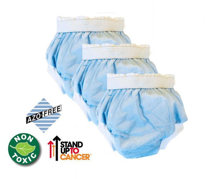 Sema Baby Lüks Alıştırma Külodu 3 lü Paket 16-22 Kg - Mavi 8682476853087 resmi