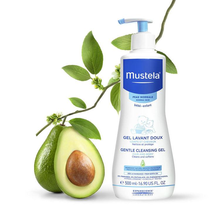 Mustela Yenidoğan Saç ve Vücut Şampuanı 500 ml resmi