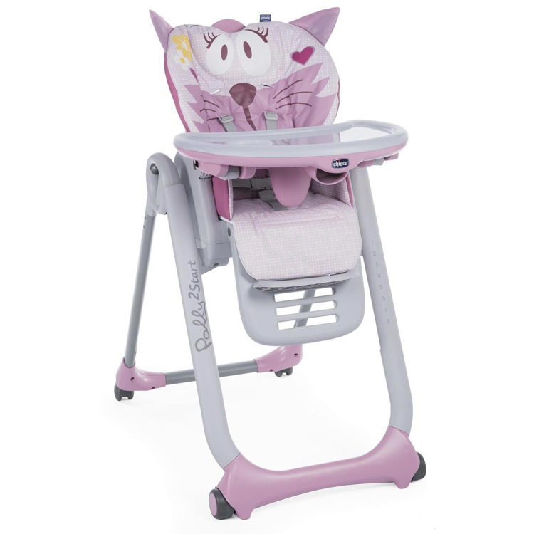 Chicco Polly 2 Start Mama Sandalyesi - Miss Pink resmi